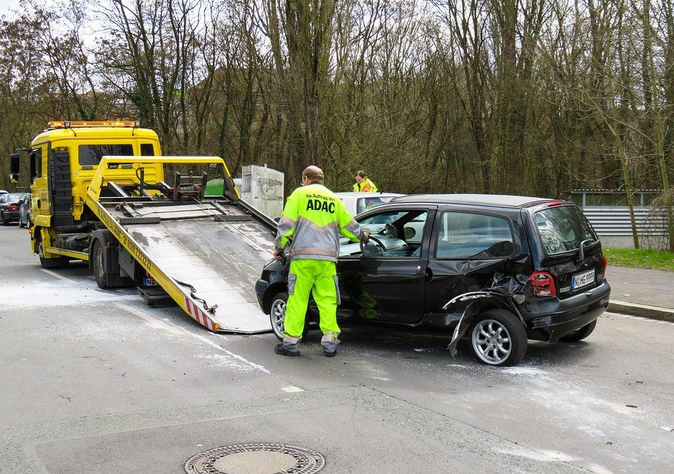 Die größten Fehler nach einem Verkehrsunfall