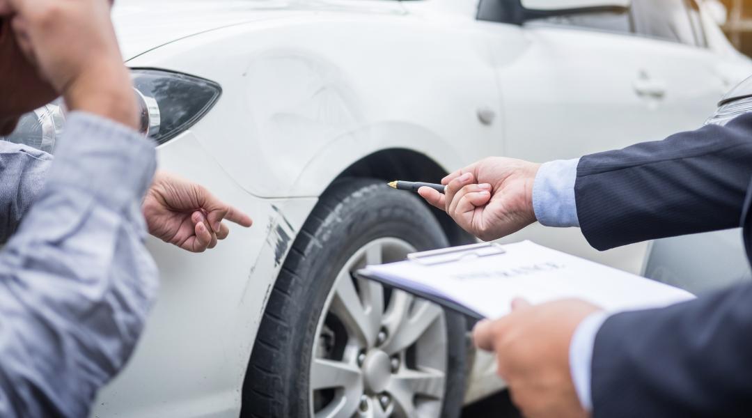 KfZ-Gutachten nach Verkehrsunfall